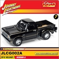 1978 - Dodge Warlock Preto - Johnny Lightning - 1/64