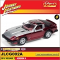 1981 - Datsun 280ZX Turbo Vinho - Johnny Lightning - 1/64