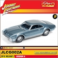 1967 - Olds Toronado Azul - Johnny Lightning - 1/64