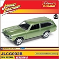 1972 - Chevy Vega Wagon Verde - Johnny Lightning - 1/64