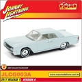 1961 - Lincoln Continental Cinza - Johnny Lightning - 1/64