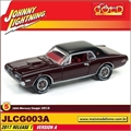1968 - Mercury Cougar XR7-G Bordeaux - Johnny Lightning - 1/64