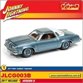 1977 - Olds Cutlass Supreme Azul - Johnny Lightning - 1/64