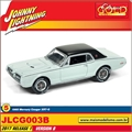 1968 - Mercury Cougar XR7-G Azul - Johnny Lightning - 1/64