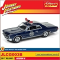 1965 - Pontiac GTO Blake Raineys Azul - Johnny Lightning - 1/64