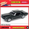 1965 - Ford Mustang Preto - Johnny Lightning - 1/64