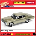 1968 - Chevy Impala Ocre - Johnny Lightning - 1/64