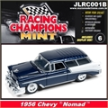 1956 - Chevy NOMAD Azul Escuro - Johnny Lightning - 1/64