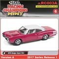 1970 - Dodge Super Bee Vermelho - Johnny Lightning - 1/64