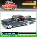 1960 - Chevy Impala Preto - Johnny Lightning - 1/64