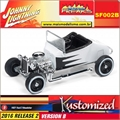 1927 - Ford T-Roadster Branco - Johnny Lightning Street Freaks - 1/64