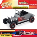 1927 - Ford T-Roadster Cinza - Johnny Lightning Street Freaks - 1/64