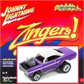 1970 - Plymouth GTX Roxo - Johnny Lightning Street Freaks - 1/64