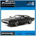 Furious 7 - 1970 Doms Dodge CHARGER R/T - Jada - 1/24