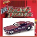 PLYMOUTH CUDA DUNN E REATH - Johnny Lightning - 1/64