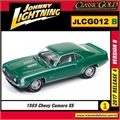 1969 - Chevy Camaro SS Verde - Johnny Lightning - 1/64