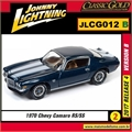 1970 - Chevy Camaro RS/SS Azul - Johnny Lightning - 1/64