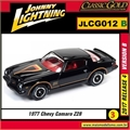 1977 - Chevy Camaro Z28 Preto - Johnny Lightning - 1/64