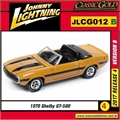 1970 - Shelby GT-500 Laranja - Johnny Lightning - 1/64