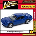 2010 - Dodge Challenger R/T Azul - Johnny Lightning - 1/64