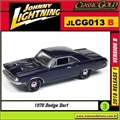 1970 - Dodge Dart Swinger 340 - Johnny Lightning - 1/64