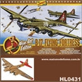 Boeing B-17G Flying Fortress - Lindberg Line - 1/64