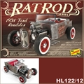 1934 - Ford Roadster RAT ROD - Lindberg - 1/25