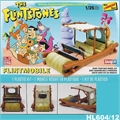 The Flintstones FLINTMOBILE - Lindberg - 1/25