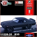 1969 - Chevrolet CAMARO Z/28 RS R35 Black - M2 Auto-Drivers - 1/64