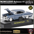 1954 - Chevrolet Bel Air R41 Azul - M2 Auto-Thentics - 1/64