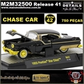 1955 - Pontiac Star Chief R41 CHASE CAR - M2 Auto-Thentics - 1/64