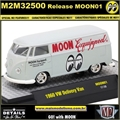 1960 - VW Kombi Delivery MOON01 - M2 Machines - 1/64