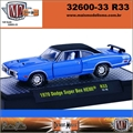 1970 - Dodge CHARGER Super Bee HEMI R33 Azul - M2M - 1/64