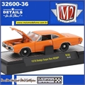 1970 - Dodge Super Bee HEMI Laranja - M2Machines - 1/64