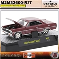 1967 - Chevrolet Nova Marrom R37 - M2Machines - 1/64