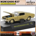 1968 - Ford Mustang Fastback 2 2 200 Dourado R37 - M2Machines - 1/64