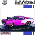 1971 - Plymouth CUDA 440 R15 Rosa - M2 Machines - 1/64