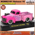 1953 - Chevrolet 3100 Truck R16 Rosa - M2 Machines - 1/64