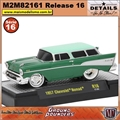 1957 - Chevrolet Nomad R16 Verde - M2 Machines - 1/64