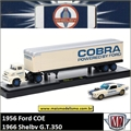1956 - Ford COE e 1966 Shelby GT350 - AUTO-HAULERS M2M - 1/64