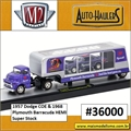 1957 - Dodge COE e 1968 Plymouth Barracuda - AUTO-HAULERS M2M - 1/64