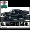 1969 - Plymouth ROAD RUNNER HEMI Preto - M2M - 1/64