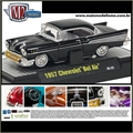 1957 - CHEVROLET BEL AIR Preto - M2M - 1/64