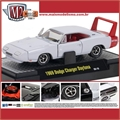 1969 - Dodge CHARGER DAYTONA Branco - M2 Detroit-Muscle - 1/64