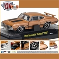 1970 - Oldsmobile CUTCLASS 442 Marrom - M2 Detroit-Muscle - 1/64