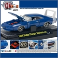 1969 - Dodge CHARGER DAYTONA 440 Azul - M2 Detroit-Muscle - 1/64