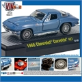 1966 - Chevrolet CORVETTE 427 Azul - M2 Machines - 1/64