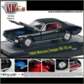 1968 - Mercury COUGAR XR-7G Preto - M2 Machines - 1/64