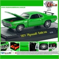 1971 - Plymouth CUDA 340 Verde - M2 Machines - 1/64
