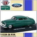 1949 - MERCURY Custom R36 Verde - M2 Machines - 1/64